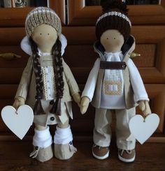Romantici ešte nevymreli … Handmade Dolls, Decorations, Blog, Dekoration, Blogging, Ornaments, Decor, Decoration, Embellishments