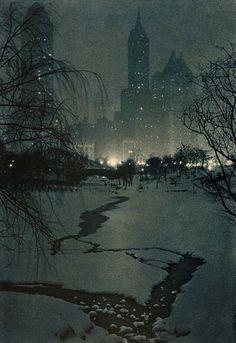 Adolf Fassbender (1884–1980), The White Night - 1932.