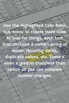 Excel's Conditional Formatting will do everything from put a border around the highlights to color coding the entire table. #SummitCollege #ExcelTips