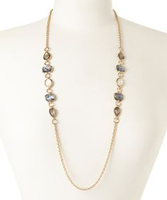 Gold & mother-of-pearl Hepburn necklace