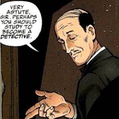 Alfred+Pennyworth+Animated | Alfred Pennyworth
