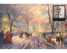 A Victorian Christmas Carol by Thomas Kinkade