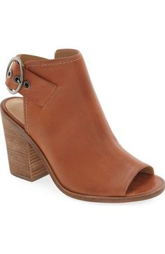 Steve Madden 'Parlor' Slingback Open Toe Bootie (Women) available at #Nordstrom