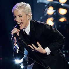 Annie Lennox of the Eurythmics: Listed as number 93 on RollingStone's 100 Greatest Singers of All Time