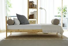 fjellse stains ikea bed frames and solid pine. Black Bedroom Furniture Sets. Home Design Ideas
