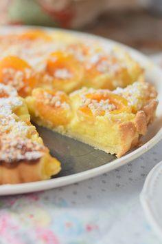Aprikosen Joghurt Tarte - Apricot Yogurt Tart #summer #apricots #yogurt #cake   Das Knusperstübchen