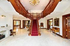 Polished hall floor