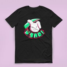 Printed T-Shirts – Rabbit T-shirt tshirt halloween cute – a unique product by koyukisawada on DaWanda