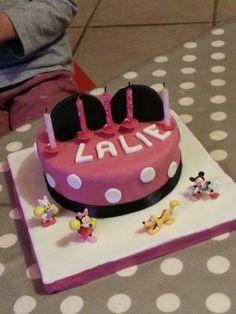Gâteau Minnie!