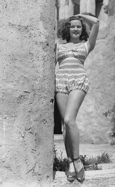 """wehadfacesthen: """"Young Gene Tierney """""""
