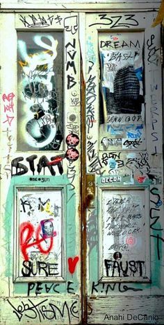 Gotham Graffiti Door NYC