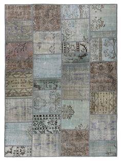 Rug 76x55 Inches Carpet Turkish Vintage Patchwork Rug Geometric Light Gray Color Oriental Rug Antique Kilim