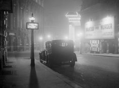 January 1936: Central London.