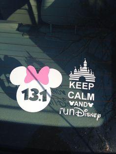 Disney World Half Marathon. January 9-12, 2014! Can't wait!!!!!
