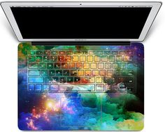 Laptop decal MacBook keyboard (Etsy shop creativedecalskin), $19.99