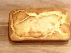 Lighter Lemon Pound Cake - bolo de limão