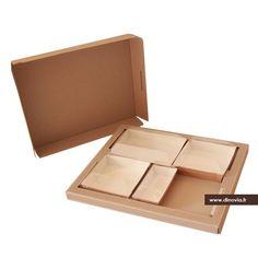 plateau repas kraft en carton