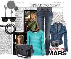 """Veronica Mars"" by binkybink on Polyvore"