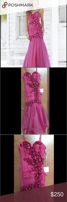 Blush Prom Dress (NWT) Brand new dress, tags and all. Size 6 blush prom Dresses Prom