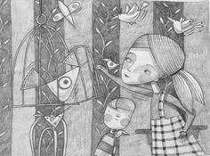 dibujo de Barbara Vagnozzi