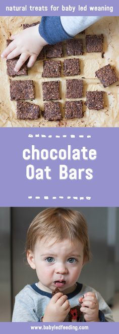 These healthy Chocolate Oat Bars are full of yummy raw chocolate, oats and prunes to name a few. And sized ideally for baby led weaning.