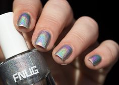 #psychedelic #fnug #holographicnails