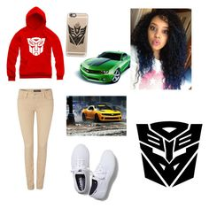 """""""Transformers"""" by zendaya090 ❤ liked on Polyvore featuring Salsa, Keds and Casetify"""