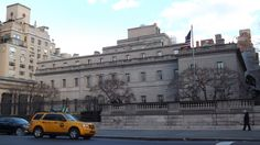 Frick Collection in New York - www.BringYourDate.com Museums In Nyc, Louvre, New York, Building, Travel, Collection, New York City, Viajes, Buildings