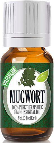 100% Pure Therapeutic Grade Mugwort Essential Oil  Comes in 10ml amber glass essential oil bottle. European Dropper Cap included.  What sets Healing Solutions Essential Oils apart is superior cult...