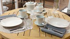 Weekly Table Setting: Cool Hues