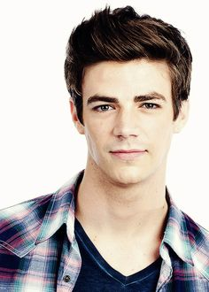 "Grant Gustin. Not usually ""my type"" but holy cow he is so flipping cute"