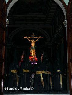 Procesión del Silencio. 2014. Santísimo Cristo de la Buena Muerte. Alcantarilla. Murcia.