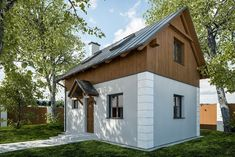 we life is good Garage Studio, Small House Plans, Home Fashion, Tiny House, Life Is Good, Shed, Outdoor Structures, How To Plan, House Styles