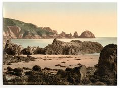 latest addition Guernsey, Moulin Huet Bay, I, Channel Islands, England