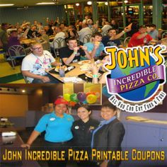 photograph relating to John Incredible Pizza Printable Coupons named 9 Perfect Unbelievable Pizza Coupon codes pics in just 2013 Pizza