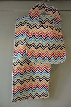 bib & burp cloth #chevron