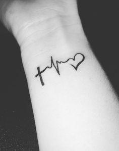 23 Heartbeat Tattoos Thatll Leave You Breathless Tattoo Ideas