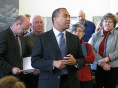 Governor Deval Patrick at Worcester Public Library Flickr - Photo Sharing!