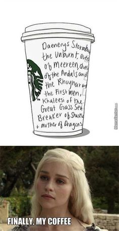 The 30 Best Game of Thrones Memes:  Got coffee?