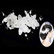 (1 Pc)Sweet White Imitation Pearl Hair Combs ... – USD $ 15.39