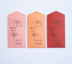 Poppies Personalized Seed Packet Wedding Favors  by Megmichelle many color available #springwedding #springweddingfavor #poppies