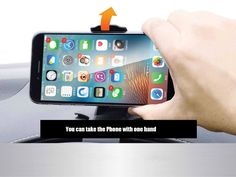 Universal NonSlip Dashboard Car Mount Holder Adjustable for iPhone iPad Samsung GPS Smartphone