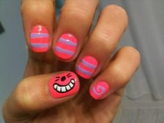 Cheshire cat nails make us happy.