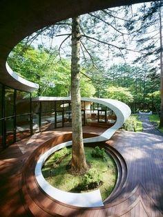 Architectural Designs - Shell House – Nagano, Japan