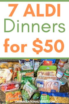 Cheap Meal Plans, Aldi Meal Plan, Cheap Easy Meals, Inexpensive Meals, Cheap Dinners, Frugal Meals, Freezer Meals, Meal Prep, Cheap Healthy Meal Plan