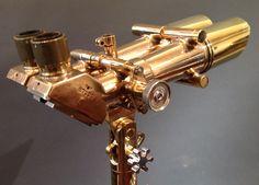 French Krauss Bronze 12 x 70 Binoculars | Daniels Antiques Aspen
