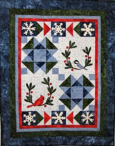 1000 Images About Winter Theme Quilts On Pinterest