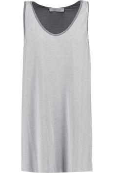 PIERRE BALMAIN Layered Modal-Blend Tank. #pierrebalmain #cloth #tank
