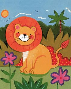 Baby lion - Sophie Harding