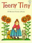 Teeny Tiny by Jill Bennett http://www.amazon.com/dp/0698116135/ref=cm_sw_r_pi_dp_ojDXwb1EN674V